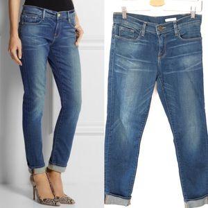 Frame Le Garcon Mid-Rise Slim Boyfriend Jeans 26